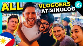 ALL your favorite PHILIPPINES Vloggers UNITED at Sinulog 2020