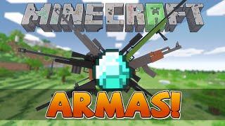 Server de minecraft com ARMAS E FACÇÃO! 1.7.2 (Pirata e original)