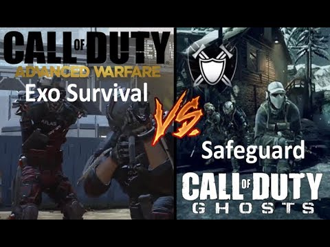 Advanced Warfare Exo Survival vs Ghosts Safeguard - Which is the Better Survival Mode?