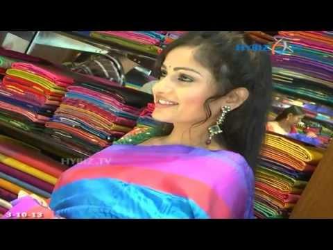 Entertainment - Heroine Madhavi Latha In Pattu Saree