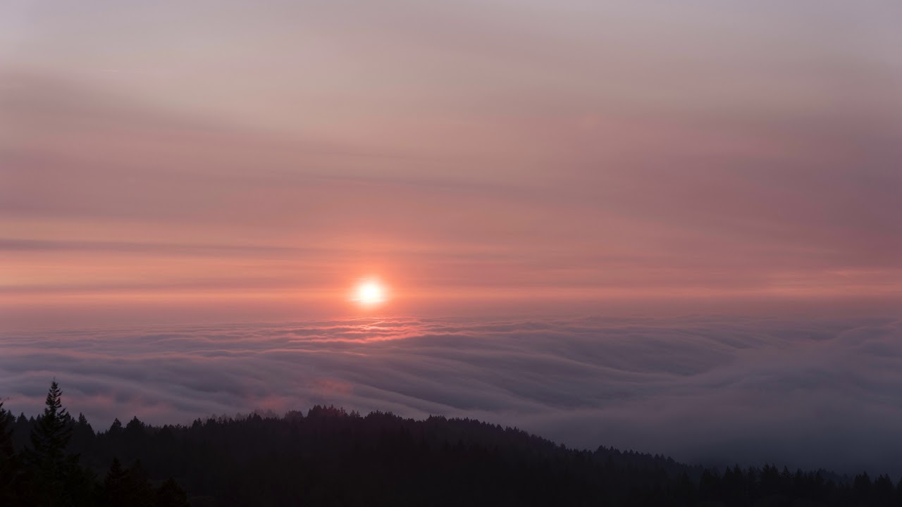 If you are sticking around, especially high up on east peak,. Sf Bay Fog Mt Tamalpais Sunset Youtube