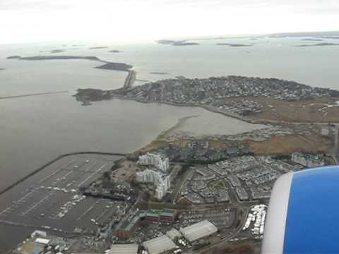 Landing at Boston (BOS) - General Edward Lawrence Logan International Airport