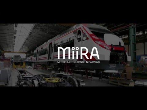 CAF MiiRA- Motion & Intelligence in Railways
