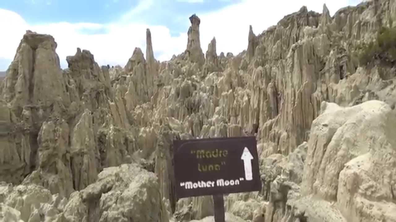 Valle De La Luna La Paz Bolivia Youtube