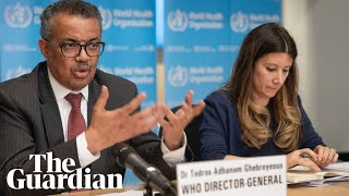 WHO hold briefing on global pandemic as coronavirus becomes 'more contagious' – watch live