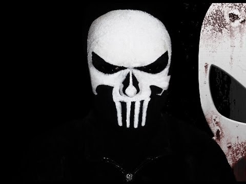 the punisher makeup tutorial youtube