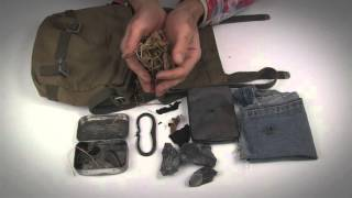 Meine Bushcraft Feuer-Tasche | Wanderfalke