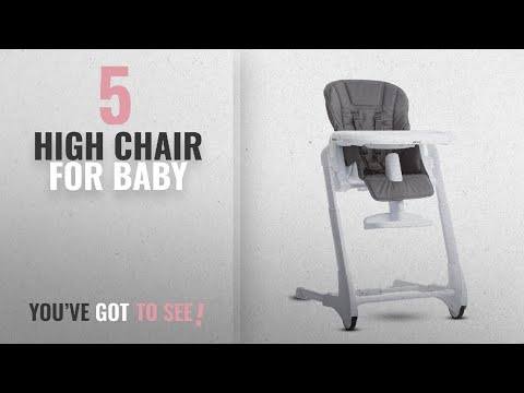 Top 10 High Chair For Baby: JOOVY Foodoo High Chair, Charcoal