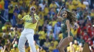 FIFA WORLD CUP BRAZIL 2014 APERTURA OFICIAL CON Jennifer Lopez Pitbull y Claudia Leitte