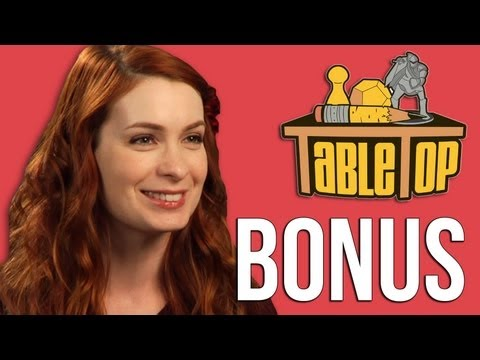 Felicia Day extended interview from Elder Sign - TableTop ep 11