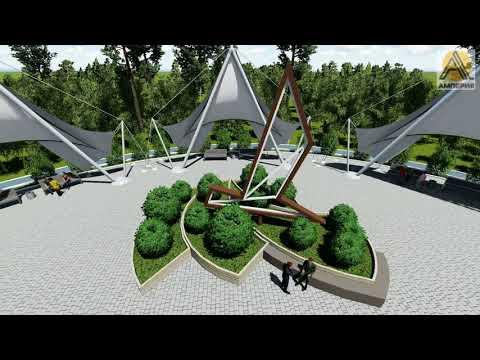 Проект реконструкции набережной г. Чайковский
