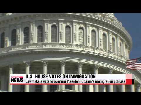 U.S. House votes to halt Obama immigration reform drive   美 상원 '이민법 절충안' 부결