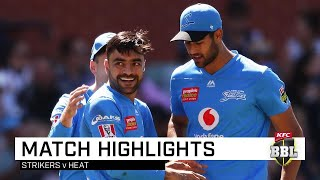 Strikers Dampen Heat With Monster 10 Wicket Win | Kfc Bbl|09