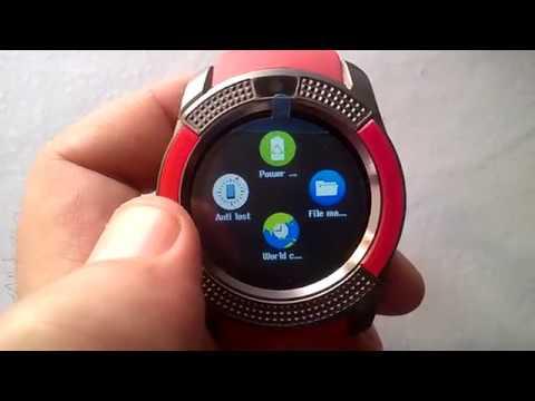 RED V8 Smart Watch