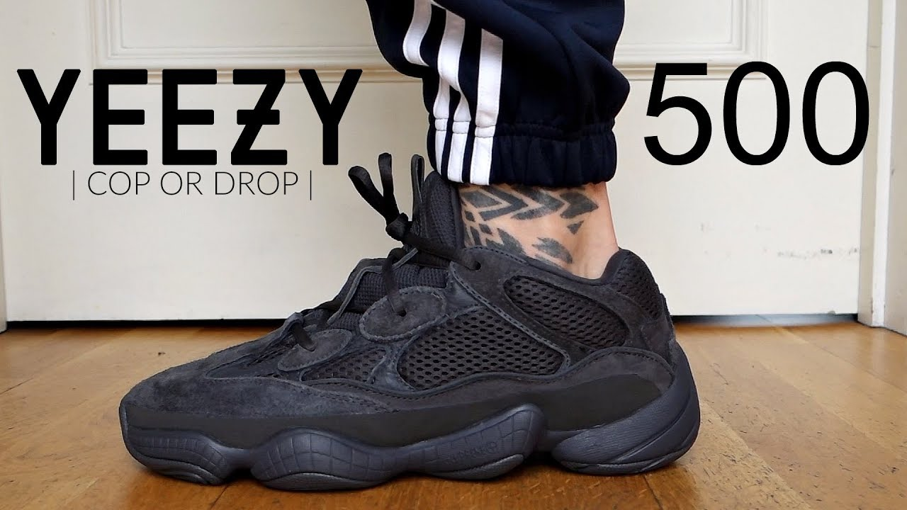 newest f2fcc 7e7fe YEEZY 500 UTILITY BLACK | Is it worth the cop? + On Foot | Men's Fashion |  Daniel Simmons