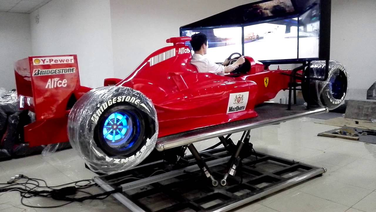 Hot Sale F1 Car Simulator Youtube