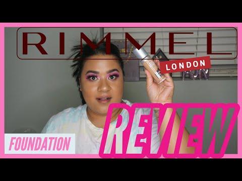 RIMMEL LONDON FOUNDATION REVIEW! SO CHEAP!! thumbnail