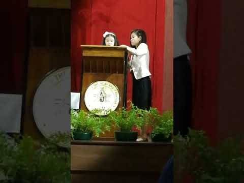 CHSM Moving-up Ceremony 2018 Opening Prayer