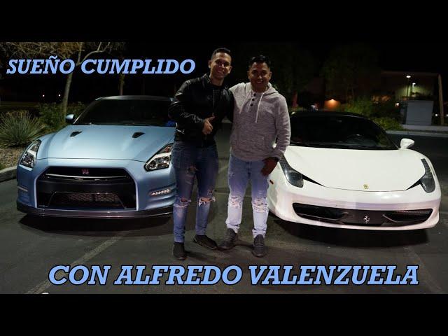 ALFREDO VALENZUELA UN SUEÑO CUMPLIDO.!!!