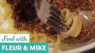 Spicy Spaghetti Bolognese Twist | Fleur & Mike