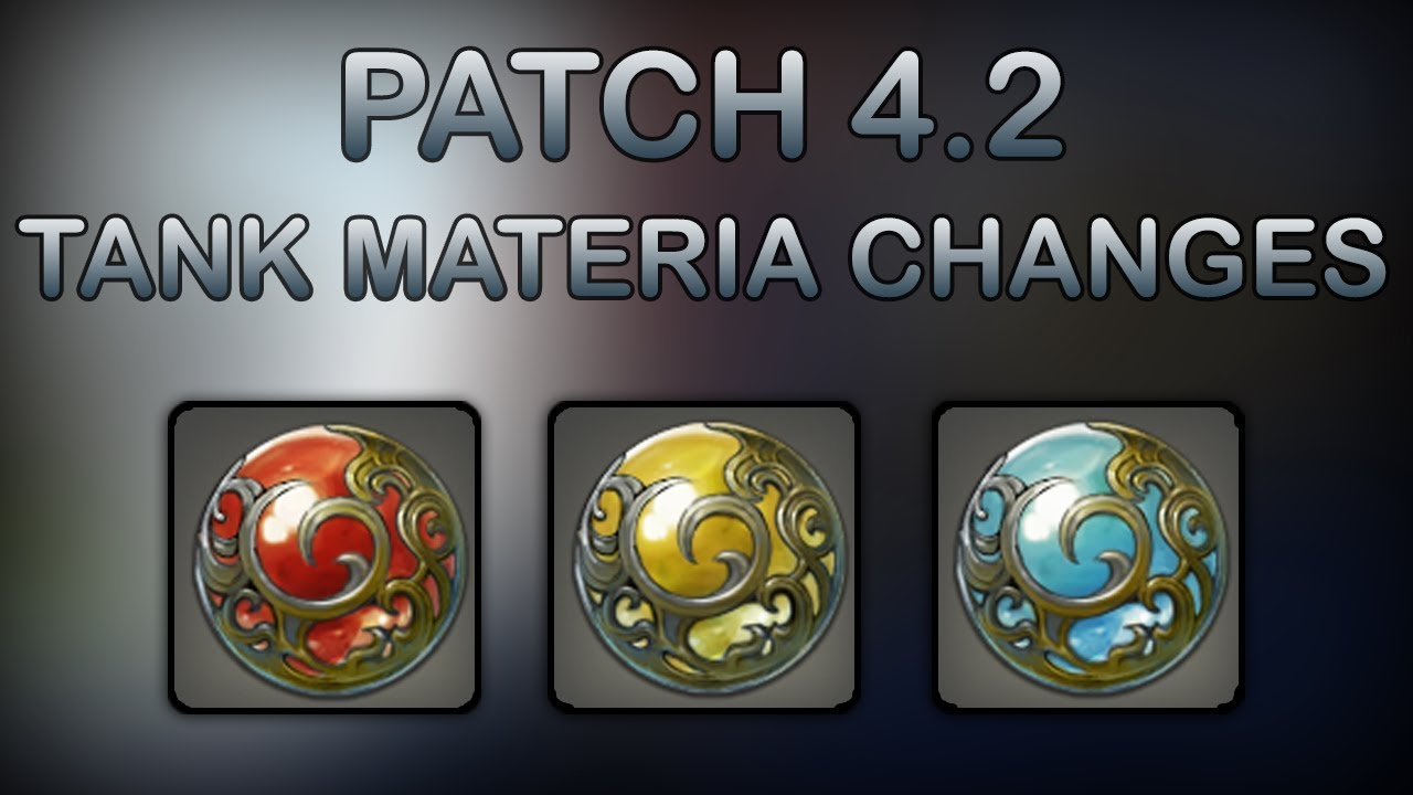 FFXIV 4 2: What Materia Should Tanks Use In Patch 4 2?