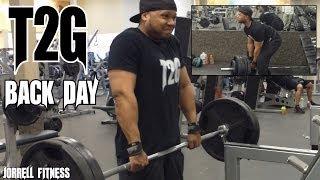 T2G: Hittin Back & Traps Like A Beast!! Heavy Workout