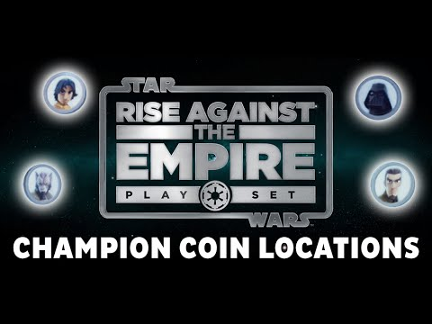 Tatooine Champion Coin Locations - Rise Against The Empire Playset - Disney Infinity 3.0