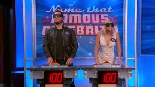 Chris Pratt vs  Abby Elliott Name That Famous Celebrity HD