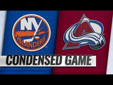 12/17/18 Condensed Game: Islanders @ Avalanche