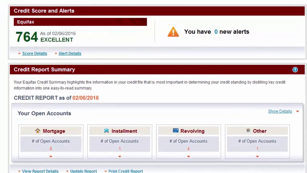 Equifax Credit Report >> How To Print The Credit Reports Youtube