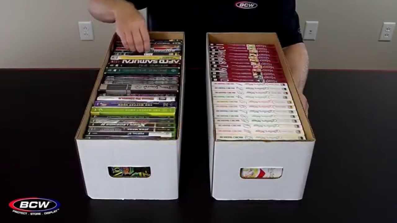 BCW Media Storage Box YouTube