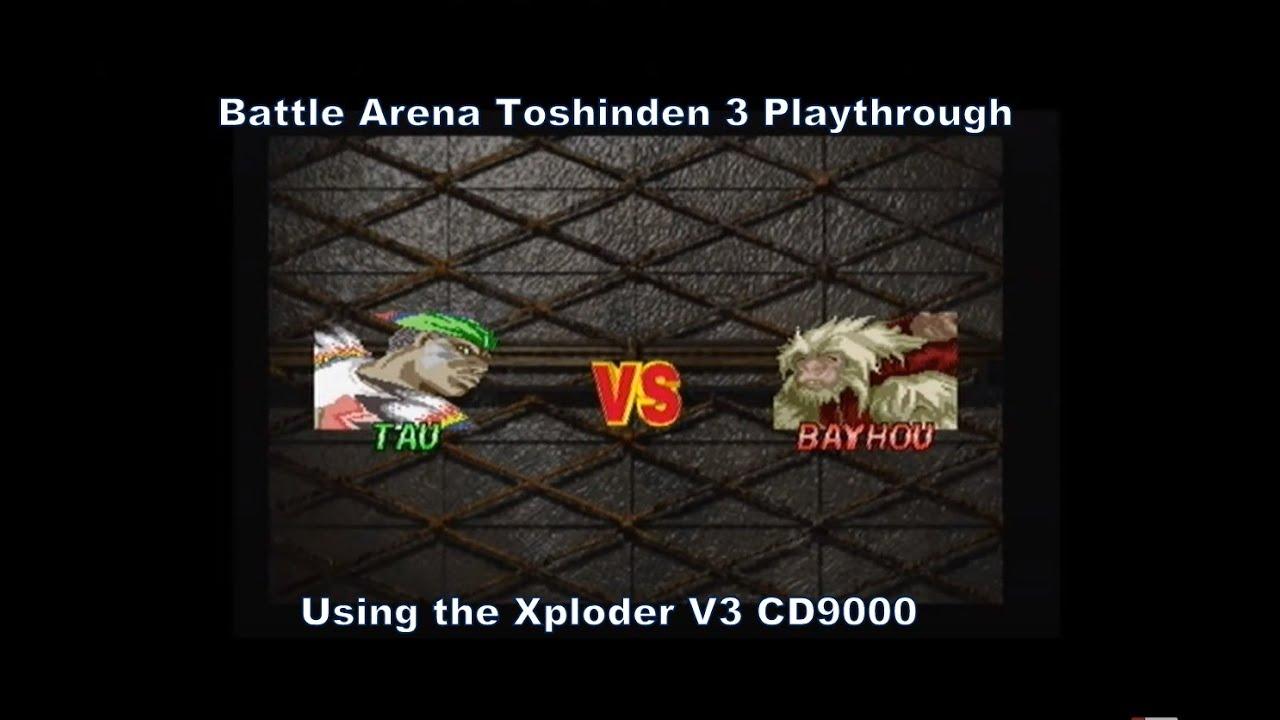 Battle Toshinden 3 Tau Playthrough Using The Xploder V3 Cd9000 For