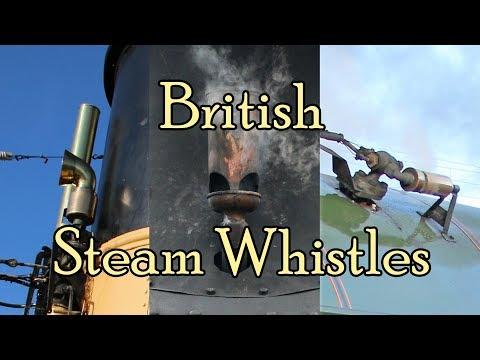 British Steam Whistle Compilation