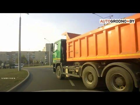 Как нарушали в Гродно летом 2016? Нарезка видео с сайта ГАИ Гродно.