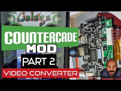 Arcade1Up V2 Gen 2 Countercade Mod: Part 2 - Video Converter from Detroit Love