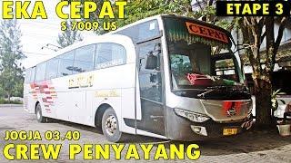 HINO RG JAHAAT ! Trip Report EKA CEPAT, SEDIH hanya bawa 8 penumpang   Jogja - Surabaya