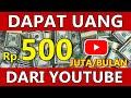 - Auto Sultan Dapat Uang 500 Juta Tiap Bulan dari YouTube Tanpa Membuat
