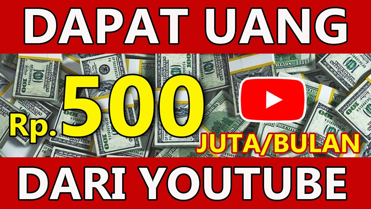 Auto Sultan Dapat Uang 500 Juta Tiap Bulan dari YouTube Tanpa Membuat Video