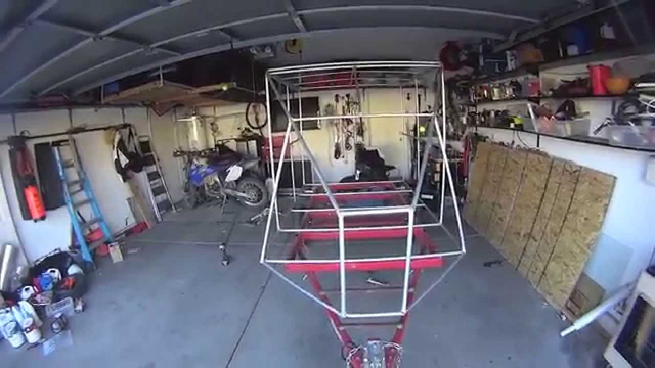 harbor freight trailer camper merging pieces youtube