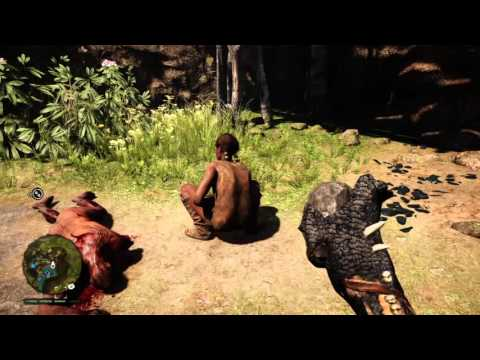 Far Cry® Primal woman with diarrhoea