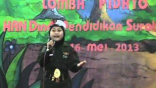 Repeat youtube video Juara 1 pidato kota di TRS Surabaya