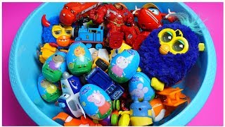 Learn Characters, Colors, Pj Masks, Vehicles Car Toys, Furby, For Children and Kids