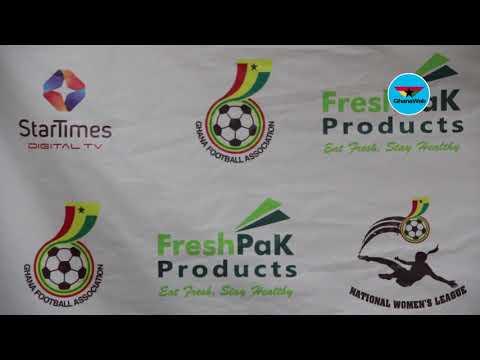 Ghana Football Association unveils new logo, backdrop for for Women's League