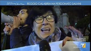 Reggio Calabria ha perdonato Salvini