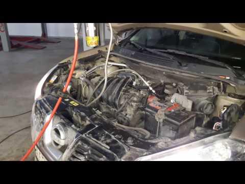 Промывка инжектора форсунок Nissan Qashqai АУТО ТехЦентр Мытищи