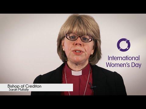 International Women's Day 2016 - Bishop of Crediton Sarah Mullally (#IWD2016)