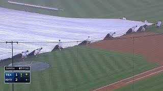 Grounds crew has trouble, batboy offers help