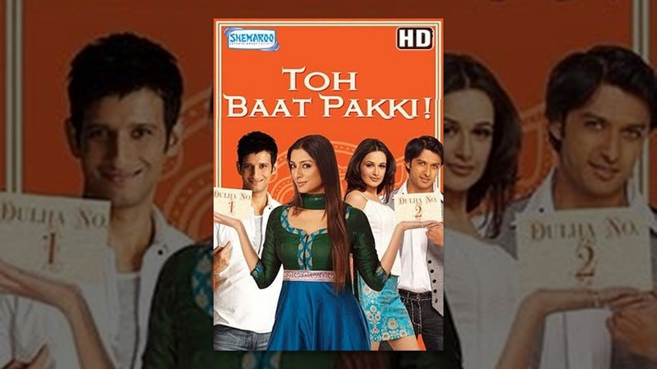 Toh Baat Pakki (HD) - Hindi Full Movie - Tabu, Sharman Joshi, Yuvika Chaudhary - With Eng Subtitles