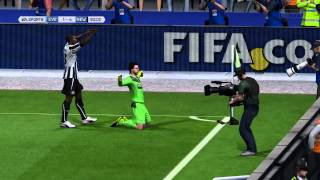 Goalkeeper Tim Krul scoring on Fifa 14 PS4