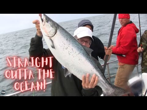 Ilwaco Washington Ocean Salmon Fishing